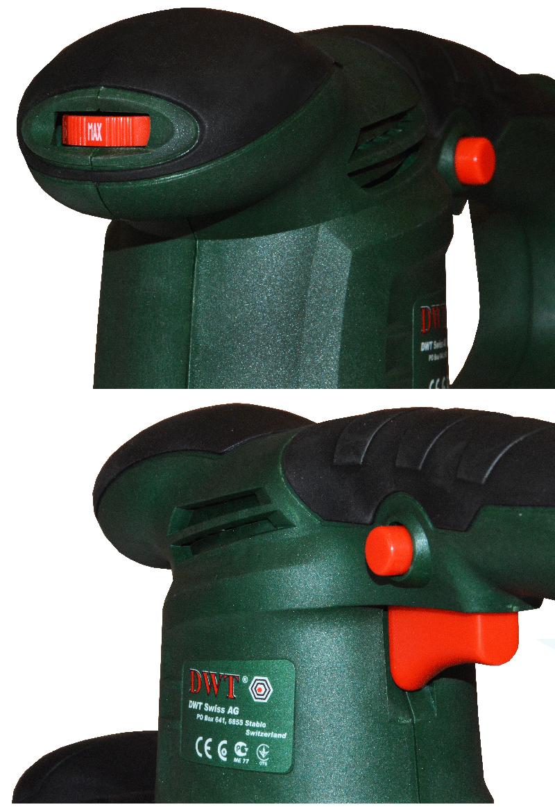 Эксцентриковая шлифмашина DWT EX03-125 DV