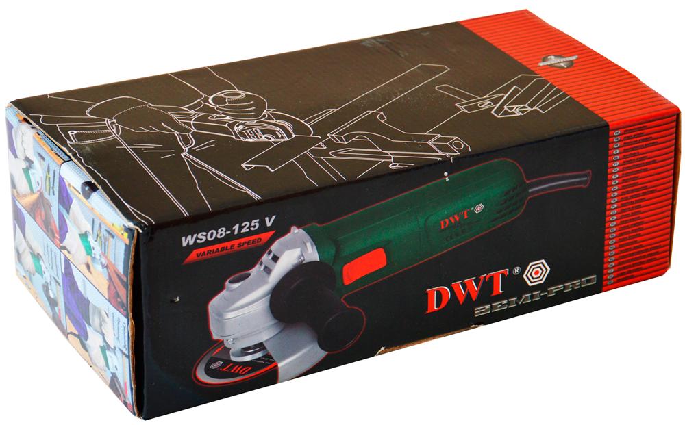 Упаковка DWT WS08-125 V