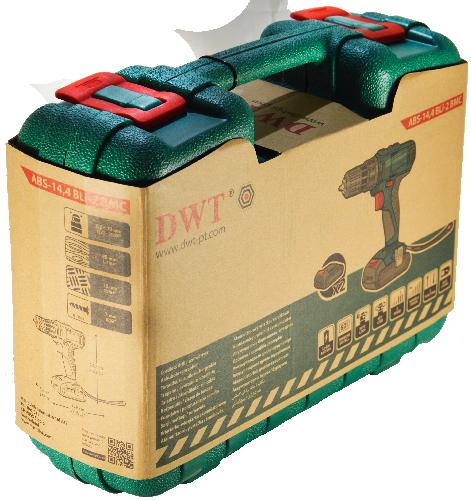 Пластиковий кейс DWT ABS-14,4 Bli-2 BMC