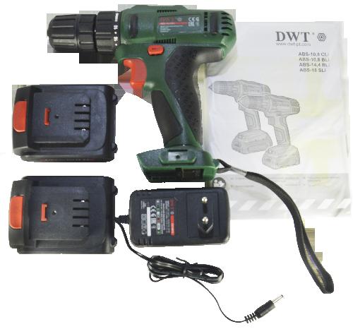 Комплектацію DWT ABS-14,4 Bli-2 BMC