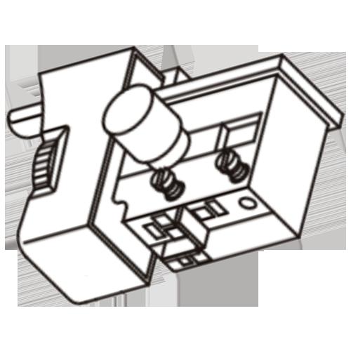 Кнопка пуска для дрели DWT